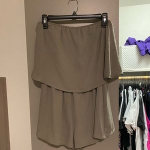 Other - Romper- Olive Green